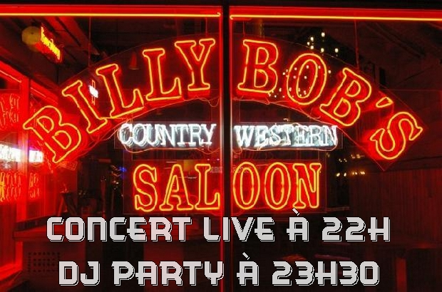 Disney Village ► Concert Rock Blue Eric Sandinas & Big Motor au billy Bob's