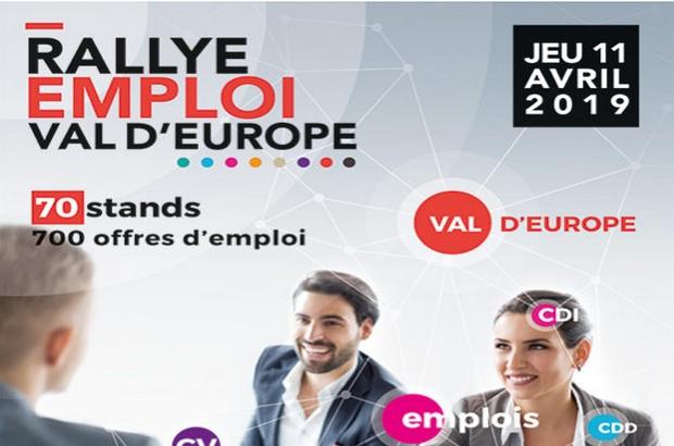 Emploi ► Rallye Emploi Val d'Europe, rencontrez les entreprises qui recrutent